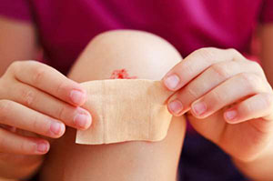 Injectable Enzyme Stops Wounds from Bleeding
