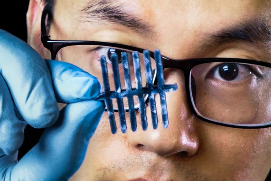 Cellulose Aerogel Material Acts as Three-in-One Sensor